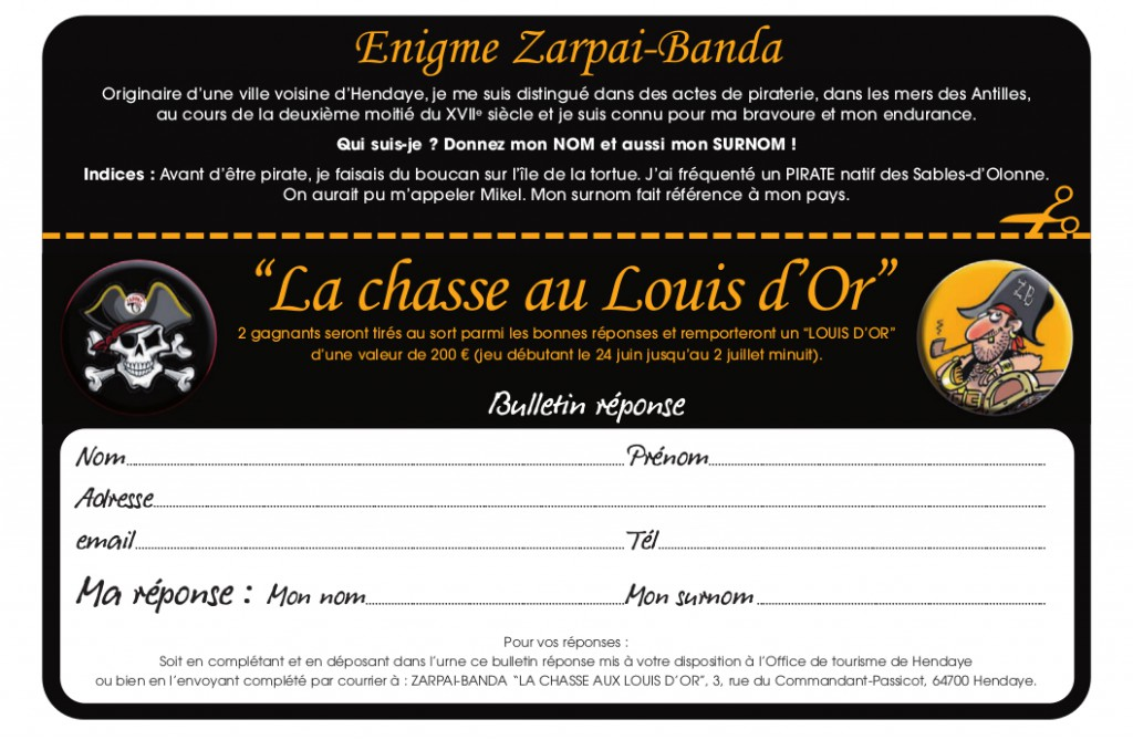 chasse au louis d'or